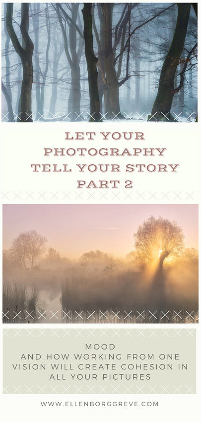 Start with the mood that you wish to convey in your photography