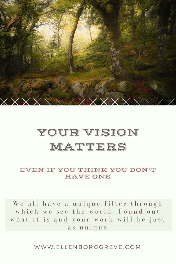 Why creating from your vision is the most fulfilling way to create