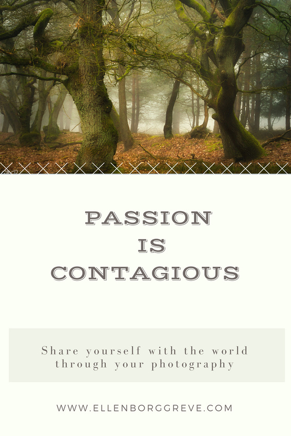 The way passion shines through in whatever you create
