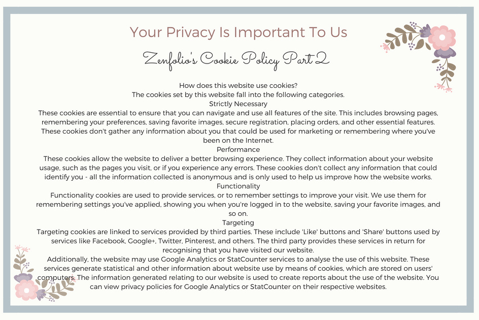 Privacy Page 3