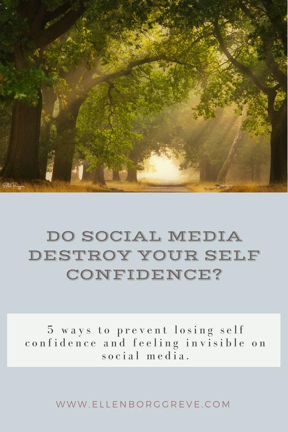 When social media destroys your self confidence