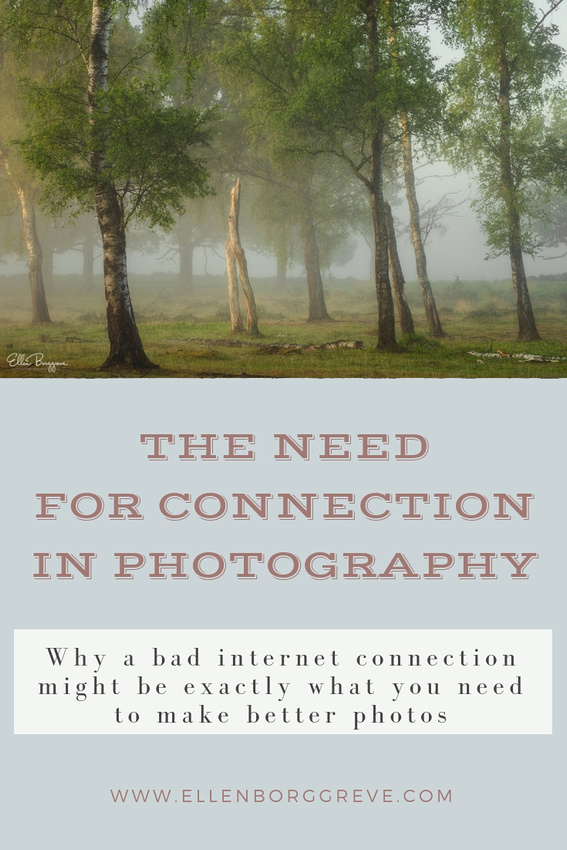 The Need For Connection In Photography