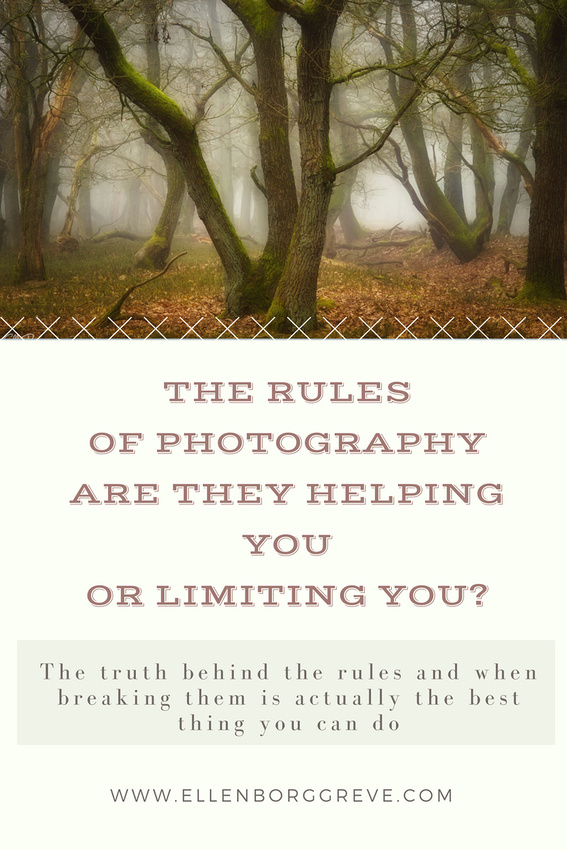 How the rules of photography can be limiting to your creativity